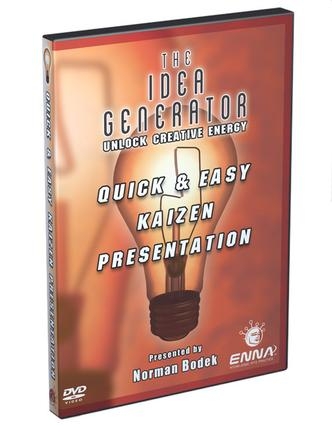 Quick and Easy Kaizen Video DVD: 1st Edition (DVD) book cover
