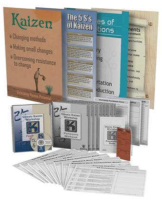 Classic Kaizen Workshop Training Package: 1st Edition (Pack) book cover