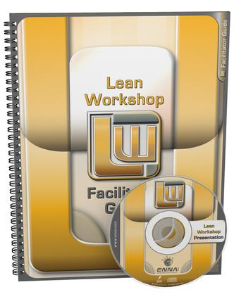Lean Mfg Workshop Facilitator Guide: 1st Edition (Paperback) book cover