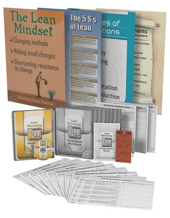 Lean Mfg. Workshop Training Package: 1st Edition (Pack) book cover