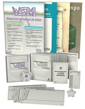 VSM Training Package (Spanish): 1st Edition (Pack) book cover