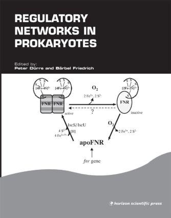 Regulatory Networks in Prokaryotes: 1st Edition (Hardback) book cover