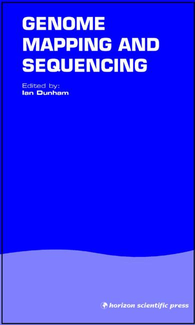 Genome Mapping and Sequencing: 1st Edition (Hardback) book cover