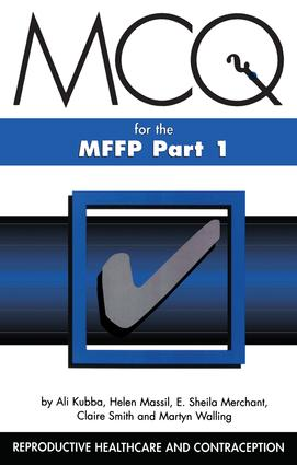 MCQs for the MFFP, Part One: 1st Edition (Paperback) book cover