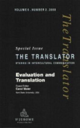 Evaluation and Translation: Special Issue of