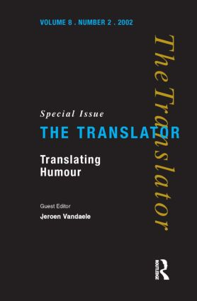 Translating Humour: 1st Edition (Paperback) book cover