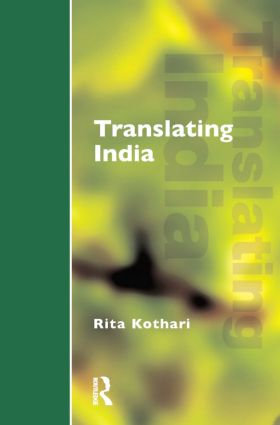 Translating India: 1st Edition (Paperback) book cover