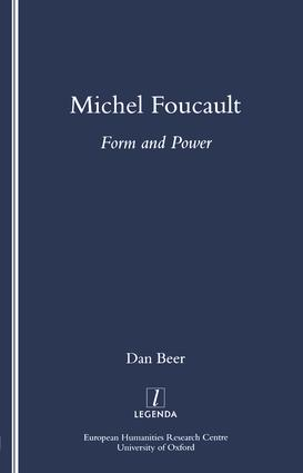 Michel Foucault: Form and Power, 1st Edition (Paperback) book cover