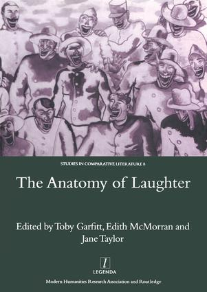 The Anatomy of Laughter: 1st Edition (Hardback) book cover