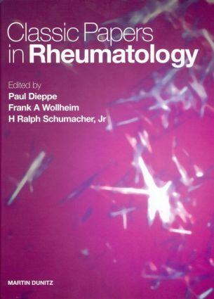 Classic Papers in Rheumatology: 1st Edition (Hardback) book cover