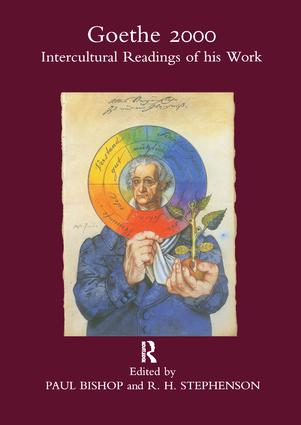 Goethe 2000: Intercultural Readings of His Work, 1st Edition (Paperback) book cover