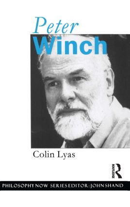 Peter Winch: 1st Edition (Hardback) book cover