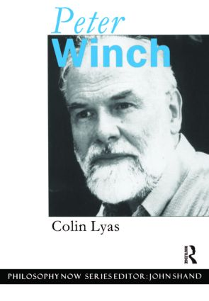 Peter Winch: 1st Edition (Paperback) book cover