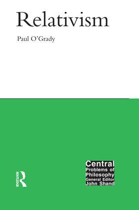 Relativism book cover