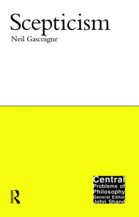 Scepticism: 1st Edition (Paperback) book cover