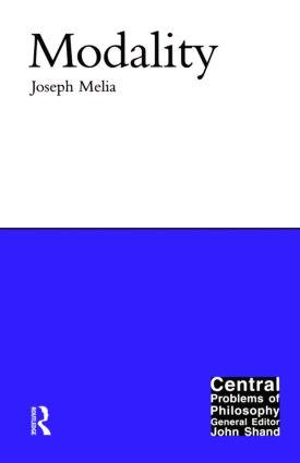 Modality: 1st Edition (e-Book) book cover
