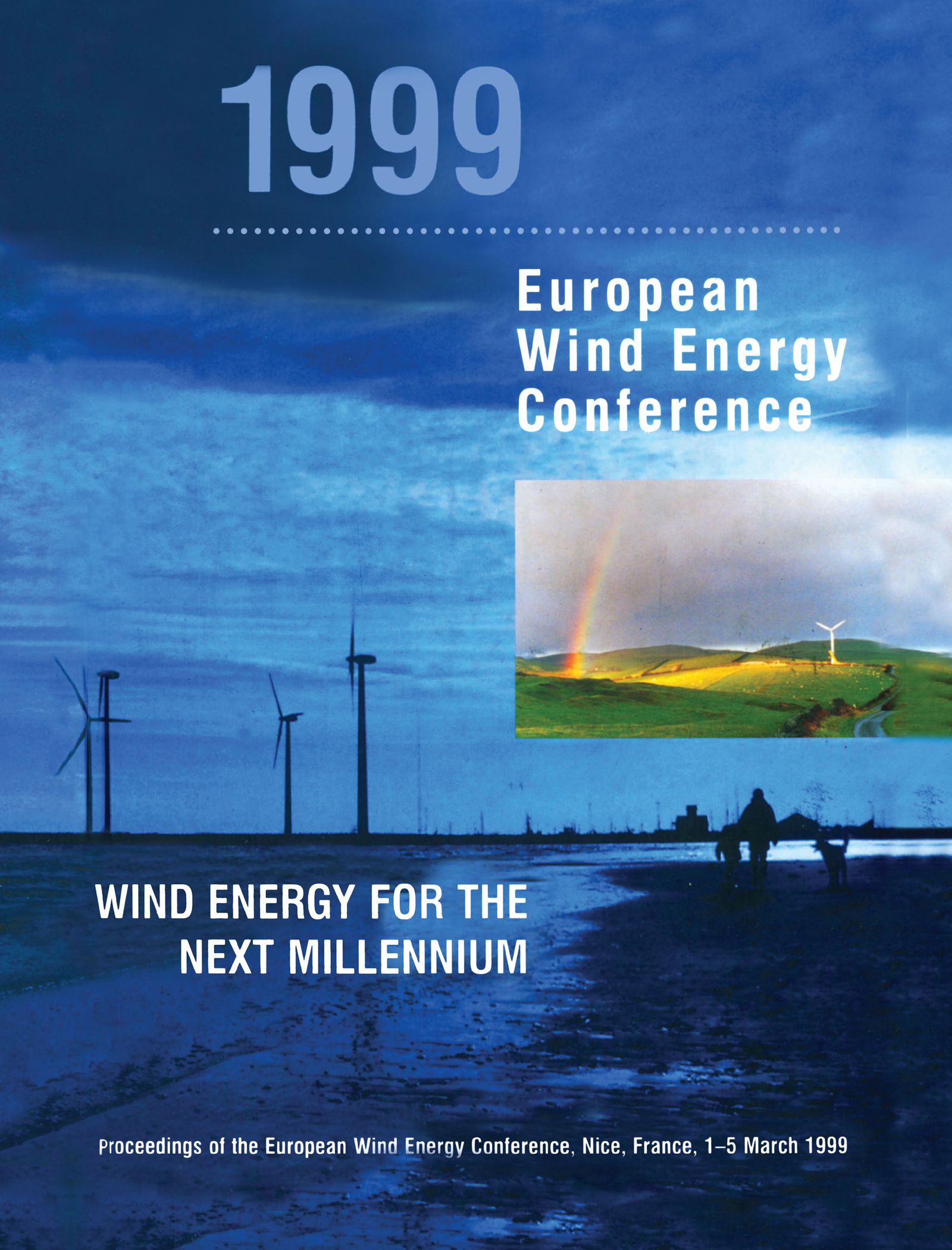 1999 European Wind Energy Conference: Wind Energy for the Next Millennium, 1st Edition (Hardback) book cover