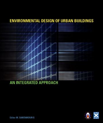 Environmental Design of Urban Buildings: An Integrated Approach (Hardback) book cover