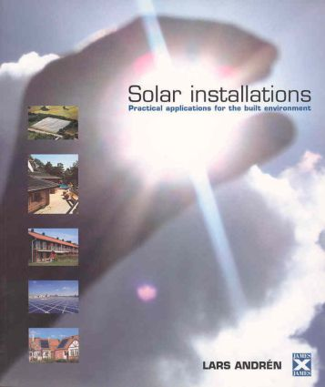 Solar Installations: Practical Applications for the Built Environment, 1st Edition (Paperback) book cover