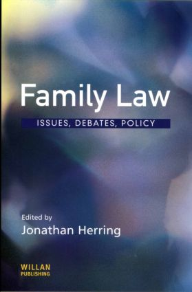 Family Law (Paperback) book cover