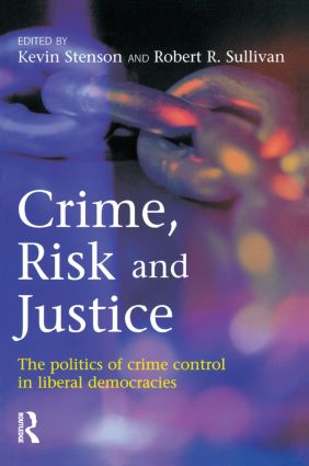 Crime, Risk and Justice (Paperback) book cover