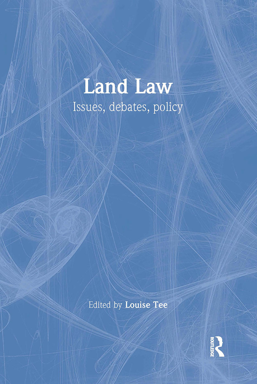 Land Law: 1st Edition (Paperback) book cover