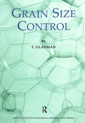 Grain Size Control: 1st Edition (Paperback) book cover