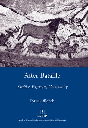 After Bataille: Sacrifice, Exposure, Community, 1st Edition (Hardback) book cover