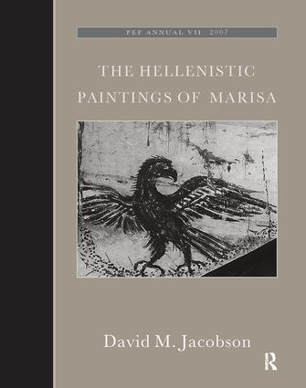 The Hellenistic Paintings of Marisa: 1st Edition (Hardback) book cover