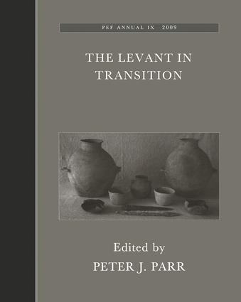 The Levant in Transition: No. 4: 1st Edition (Hardback) book cover