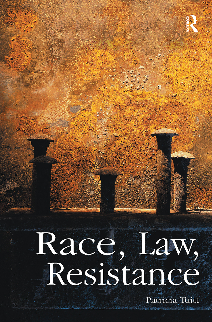 Race, Law, Resistance (Paperback) book cover