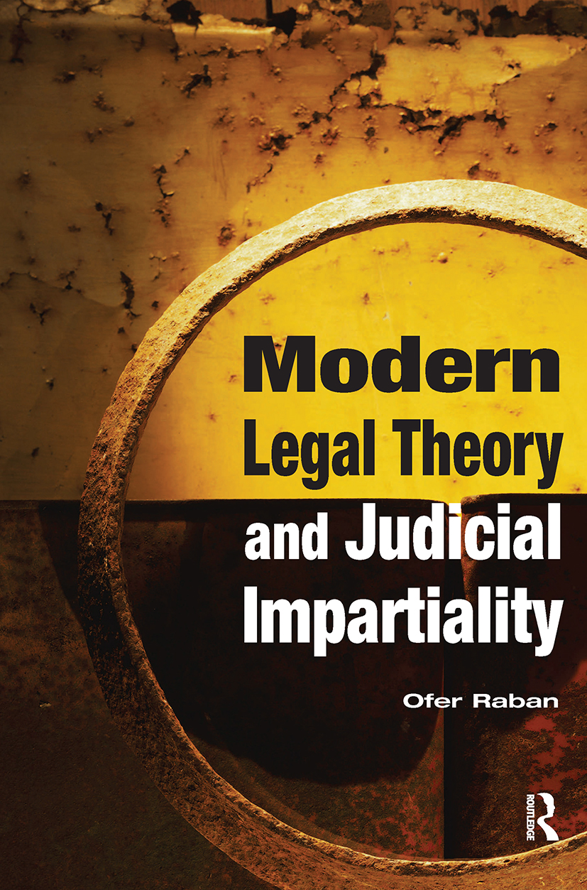Modern Legal Theory & Judicial Impartiality: 1st Edition (Paperback) book cover