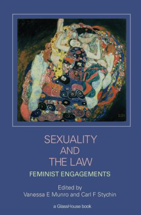 Sexuality and the Law: Feminist Engagements (Paperback) book cover