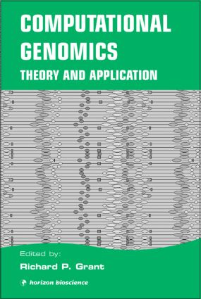 Computational Genomics: Theory and Application, 1st Edition (Hardback) book cover