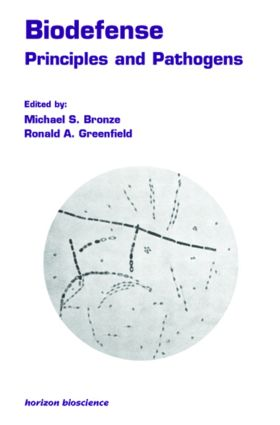 Biodefense: Principles and Pathogens, 1st Edition (Hardback) book cover
