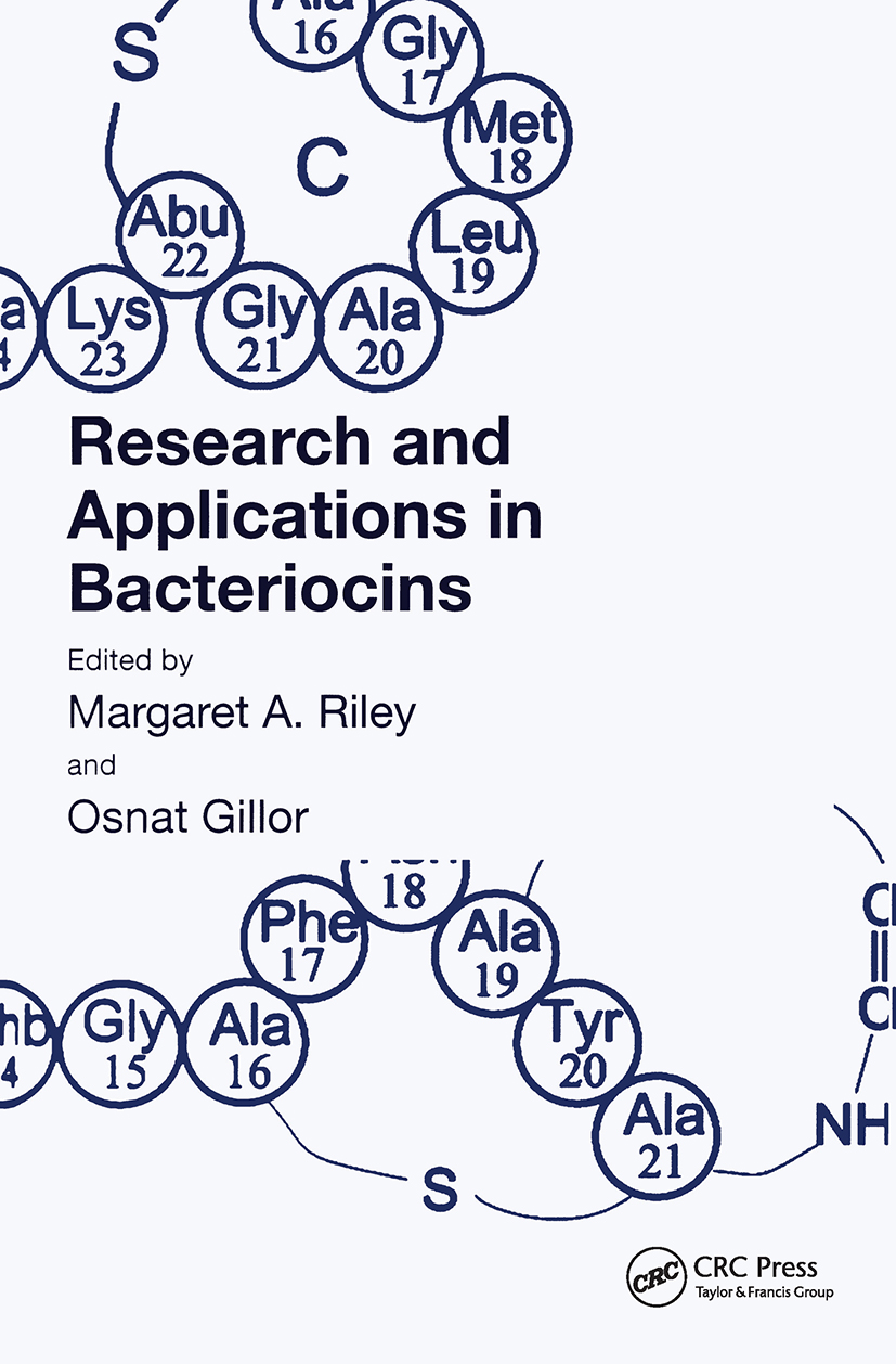 Research and Applications in Bacteriocins: 1st Edition (Hardback) book cover