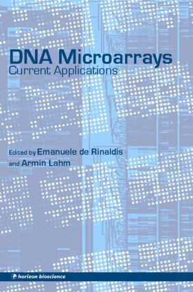 DNA Microarrays: Current Applications, 1st Edition (Hardback) book cover