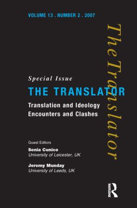 Translation and Ideology: Encounters and Clashes, 1st Edition (Paperback) book cover