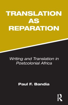 Translation as Reparation: 1st Edition (Paperback) book cover