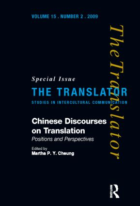 Chinese Discourses on Translation: Positions and Perspectives book cover
