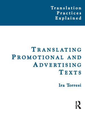 Translating Promotional and Advertising Texts book cover