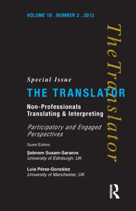 Non-Professional Translating and Interpreting  9781905763351