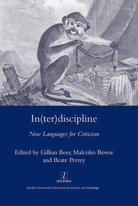 In(ter)discipline: New Languages for Criticism, 1st Edition (Hardback) book cover