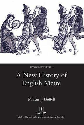 A New History of English Metre: 1st Edition (Hardback) book cover