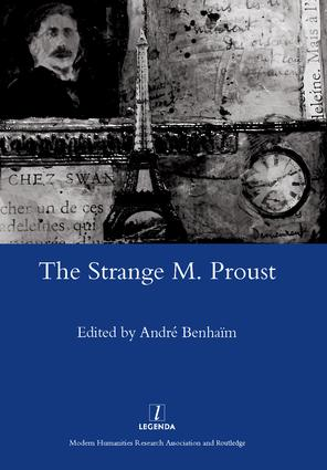 The Strange M. Proust: 1st Edition (Hardback) book cover