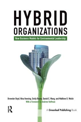 Hybrid Organizations: New Business Models for Environmental Leadership book cover