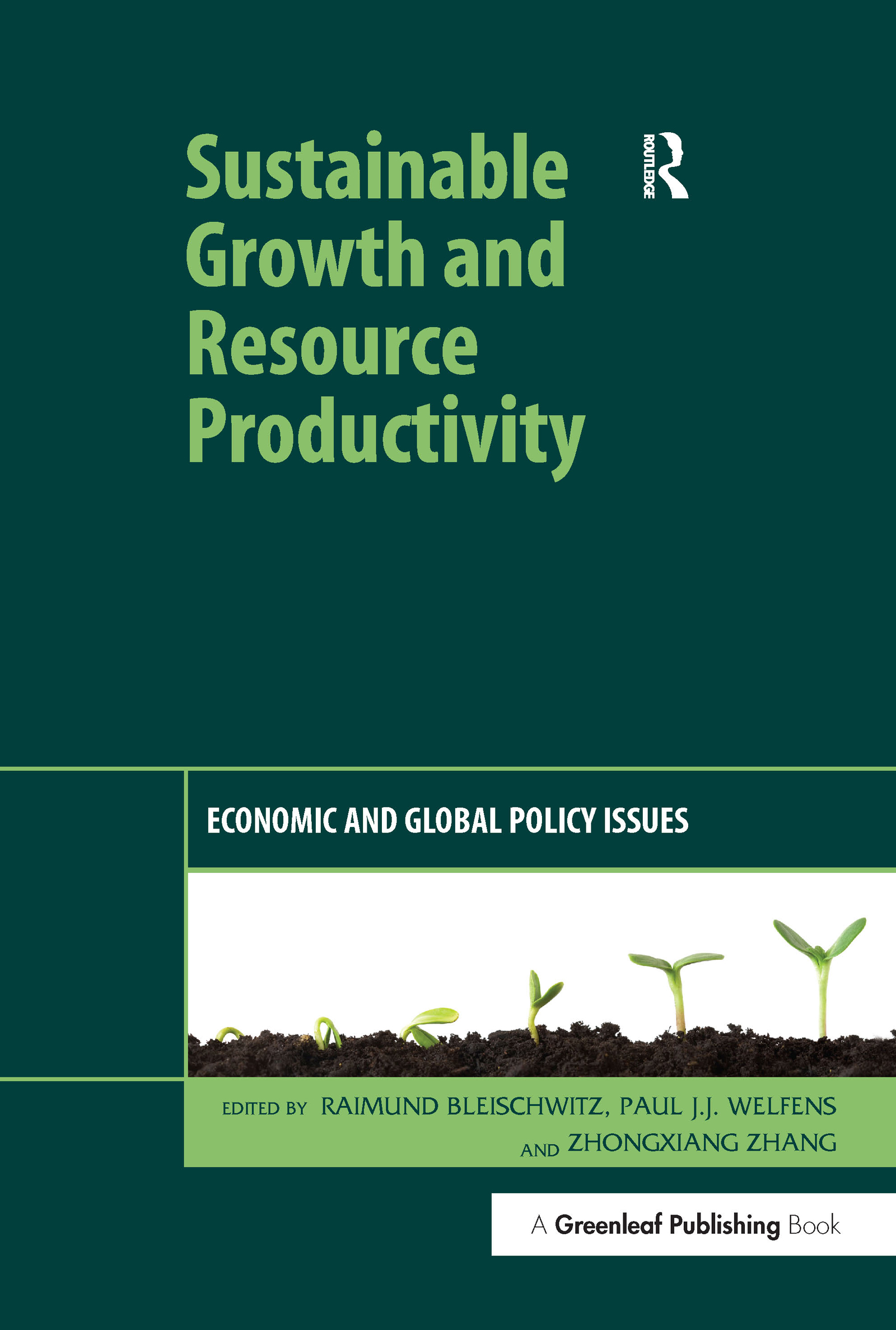Sustainable Growth and Resource Productivity: Economic and Global Policy Issues book cover