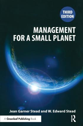 Management for a Small Planet: Third Edition, 3rd Edition (Paperback) book cover