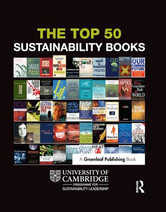 The Top 50 Sustainability Books: 1st Edition (Paperback) book cover