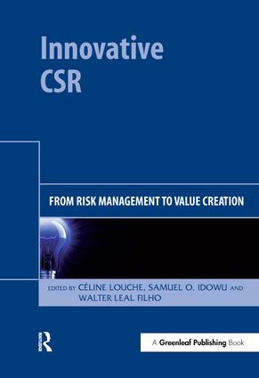 Innovative CSR: From Risk Management to Value Creation, 1st Edition (Hardback) book cover